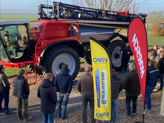 DEMONSTRATION PULVERISATEURS HORSCH DU 21/01/2020