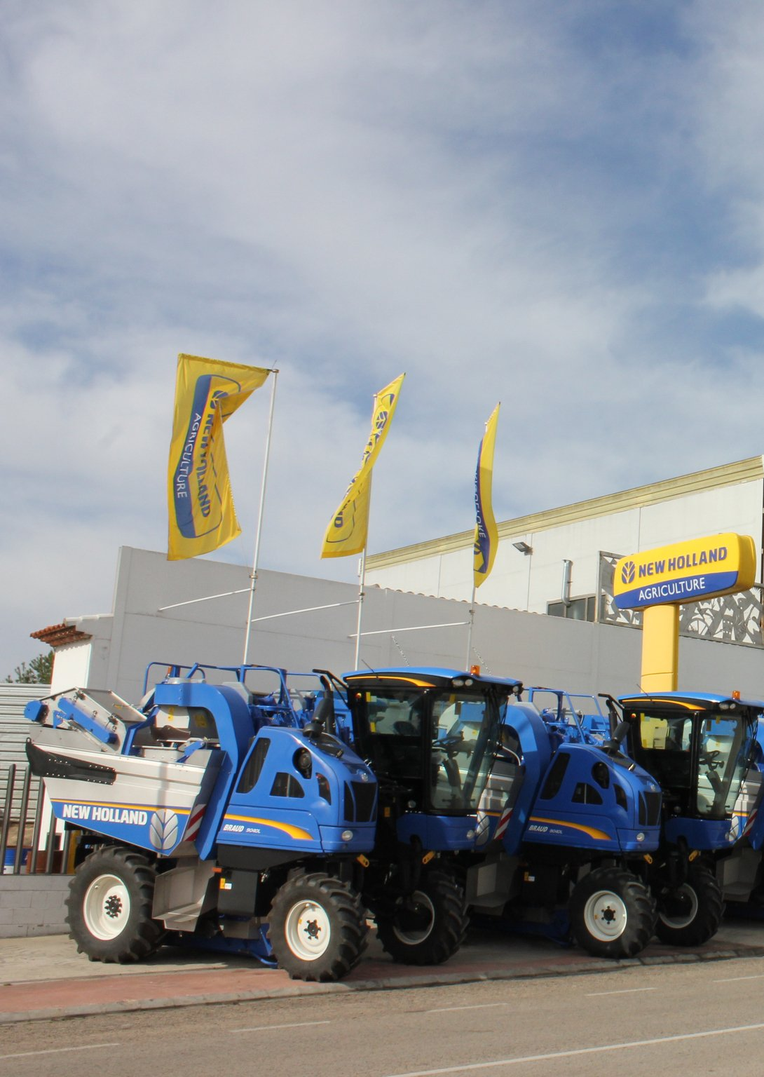 "ITT VIMO: New Holland Braud obtient la certification ""Origine France Garantie"